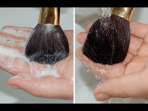 Spring Clean Dirty Makeup Brushes